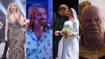 Los 50 momentos que marcaron el mundo del espectáculo en el 2018 [FOTOS]