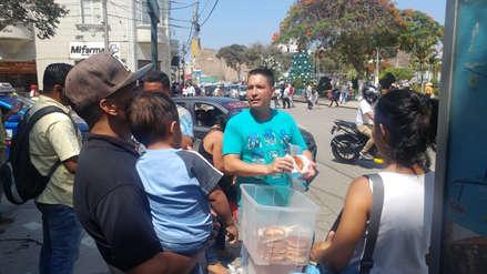 Este 24 de diciembre, venezolanos esperan cenar  pollo al horno, tamal y pan de jamón