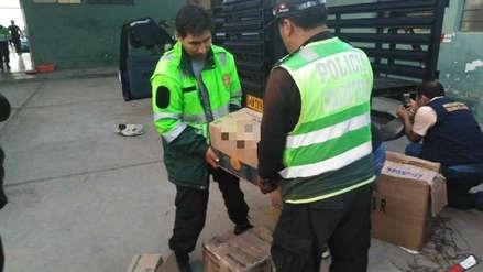 Policía de Carreteras incauta 80 kilos de droga en Arequipa
