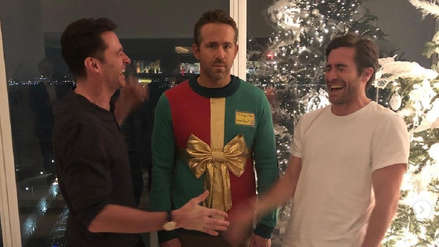 Ryan Reynolds: Hugh Jackman y Jake Gyllenhaal le hicieron una divertida broma navideña