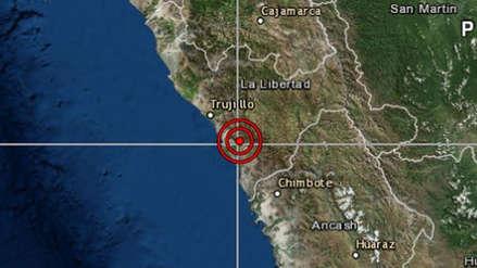 Un sismo de magnitud 4.2 remeció Trujillo esta madrugada