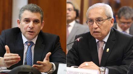 """Presidente del Poder Judicial tildó de """"lamentable"""" la polémica al interior de la Fiscalía"""