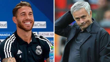 El duro mensaje de Sergio Ramos a José Mourinho por su posible llegada al Real Madrid