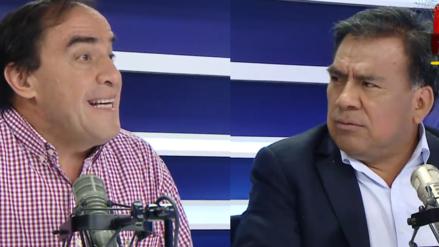 """""""Difícil que aprendamos del APRA"""": El picante debate entre Javier Velásquez Quesquén y Yonhy Lescano"""