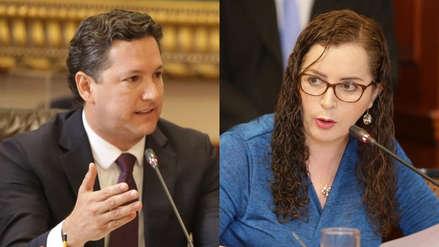 """Daniel Salaverry evitó debatir con Rosa Bartra: """"Siendo tan democráticos como los caracteriza, no usaré la palabra"""""""