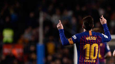 Barcelona ganó 2-0 Celta de Vigo y despidió el año como líder de LaLiga
