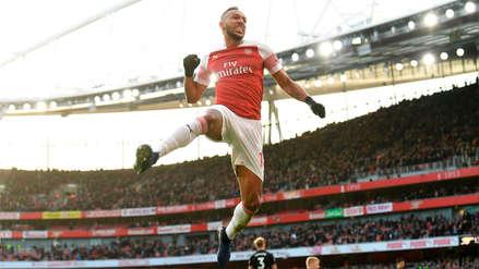 El 'tiki-taka' del Arsenal para que Aubameyang anote este golazo ante el Burnley