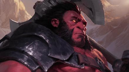 Artifact | Nerfean a Axe, el héroe más poderoso del juego de cartas de Dota 2