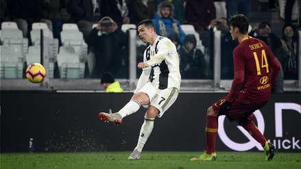 Juventus ganó 1-0 a AS Roma con gol de Mandzukic y se mantiene en la cima de la Serie A