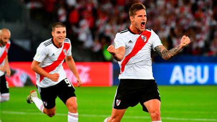El certero cabezazo de Zuculini que pone en ventaja a River Plate sobre Kashima