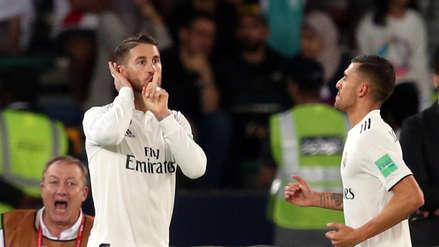 Real Madrid | La polémica celebración de Sergio Ramos tras anotar en el Mundial de Clubes