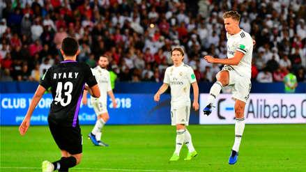 El golazo de Marcos Llorente que colaboró con un nuevo título para el Real Madrid