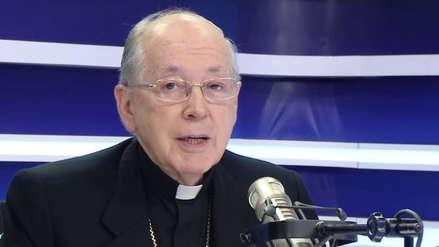 Cipriani sobre su renuncia como obispo:
