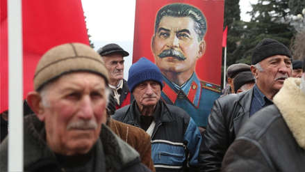 """Vecinos de Gori recuerdan a Stalin, """"el georgiano más famoso de la historia"""""""