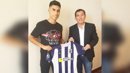 Alianza Lima | José Manzaneda y sus primeras palabras tras firmar por el cuadro blanquiazul