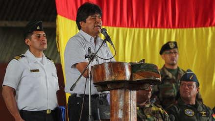 El presidente de Bolivia pide que EE.UU. se retire también de Irak y Afganistán