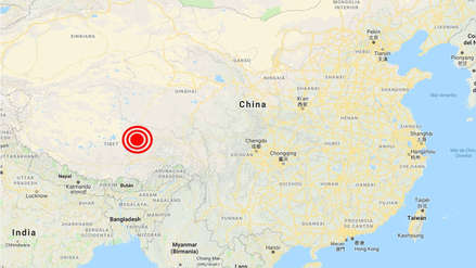 Un sismo de magnitud 5.6 remeció el oeste de China