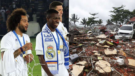 Real Madrid y su mensaje de apoyo a las víctimas de la tragedia
