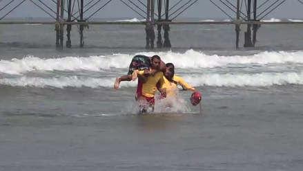 Verano 2019 | Ochenta salvavidas listos para cuidar a bañistas en playas del litoral lambayecano