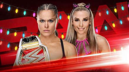 WWE Monday Night RAW: Ronda Rousey defenderá su título ante Natalya por Navidad