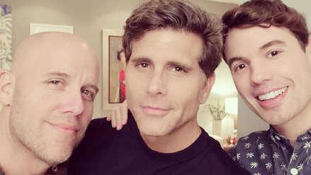 Gian Marco, Christian Meier y Bruno Pinasco tuvieron emotiva reunión navideña