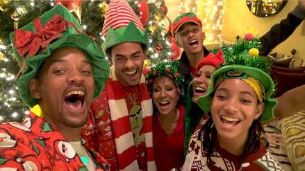 Will Smith y el divertido video navideño que grabó junto con su familia [VIDEO]