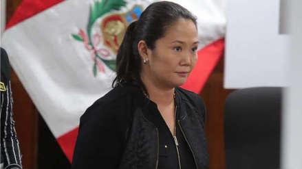 Keiko Fujimori envía una carta y dice estar