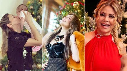 Navidad 2018: Thalía, Gisela Valcárcel y otros famosos mandan sus saludos navideños [FOTOS]