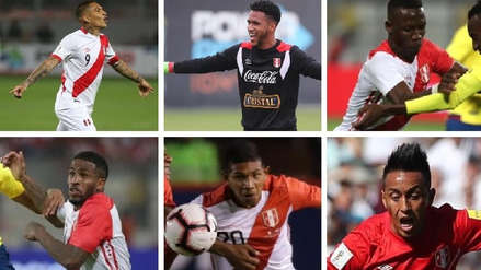 Selección Peruana: ¿cómo cierran el año los 23 futbolistas que fueron al Mundial Rusia 2018?