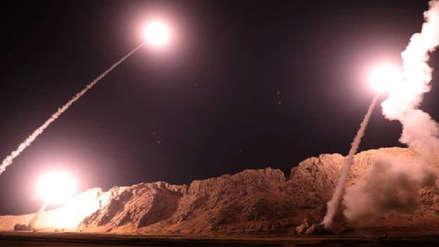 La defensa antiaérea siria dispara contra