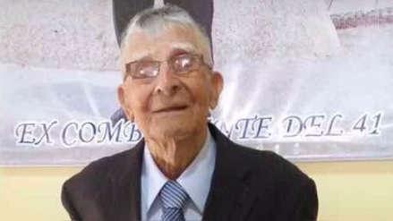 Excombatiente de la guerra contra Ecuador muere a los 101 años en Pacasmayo