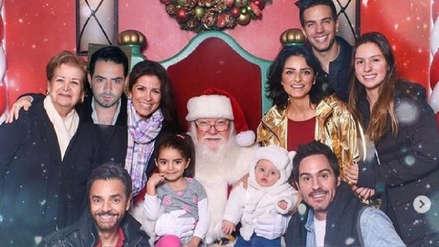 Eugenio Derbez y la divertida celebración navideña junto a su familia [FOTOS Y VIDEO]