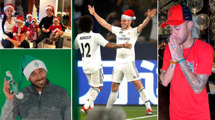 Navidad 2018 | Los mejores saludos navideños de los personajes del fútbol