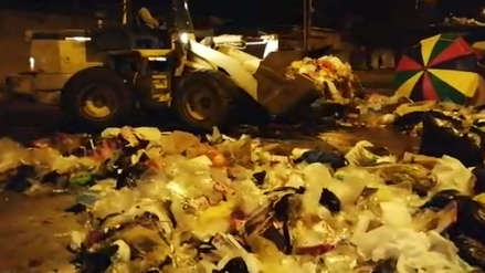 Más de 50 toneladas de basura se recogieron solo del mercado Modelo de Chiclayo