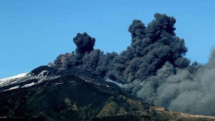 Alerta en Italia por el volcán Etna: ya causó 150 temblores