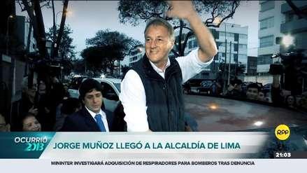 Resumen 2018 | Jorge Muñoz y su carrera hacia el sillón municipal de Lima