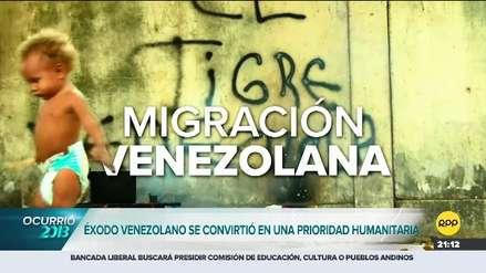 La ola migratoria venezolana marcó al Perú en el 2018