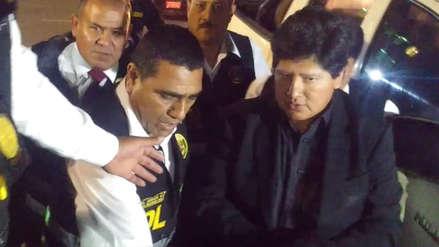 Edwin Oviedo fue recluido en el penal de Chiclayo