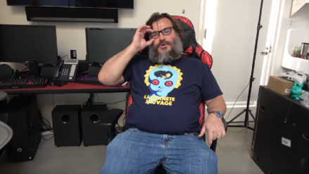 Jack Black lanza su canal de videojuegos en YouTube y promete ser más grande que Ninja y Pewdiepie