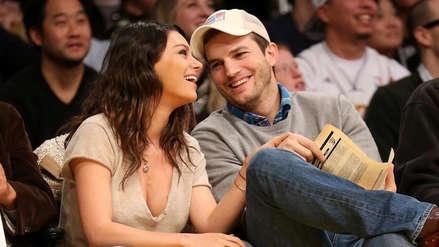 Ashton Kutcher y Mila Kunis 'trolean' a revista ante rumores de separación [VIDEO]