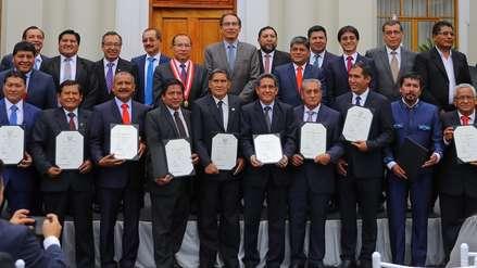 Martín Vizcarra a gobernadores regionales: