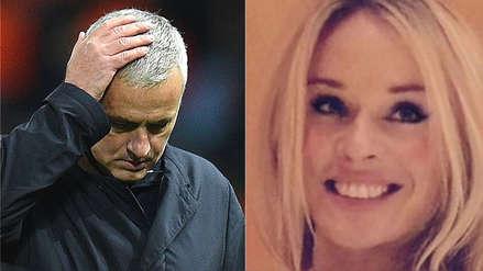 José Mourinho protagonizó escándalo amoroso tras su salida de Manchester United