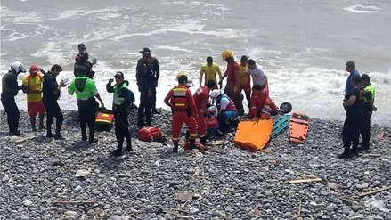 Dos heridos tras caída de paratrike al mar de la playa Marbella en Magdalena
