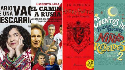 Autores peruanos y niñas rebeldes: Estos son los libros más vendidos del 2018 en el Perú