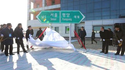 Las dos Coreas celebran con una ceremonia simbólica su reconexión ferroviaria