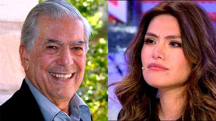 Mario Vargas Llosa felicitó a la ganadora peruana del 'reality'