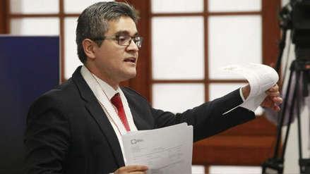 Fiscal José Domingo Pérez es denunciado penalmente por presunto plagio
