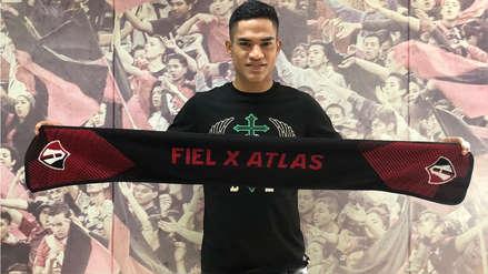 Atlas oficializó la contratación de Anderson Santamaría para la temporada 2019