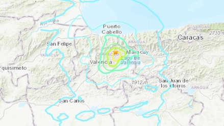 Sismo de magnitud 5.6 se sintió en Caracas y varios estados al norte de Venezuela