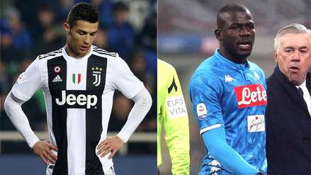 Cristiano Ronaldo repudió los insultos racistas contra Koulibaly en el Inter-Napoli